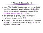 a makefile example 4