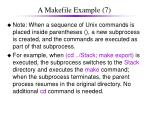 a makefile example 7