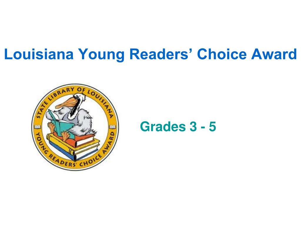 louisiana young readers choice award l.