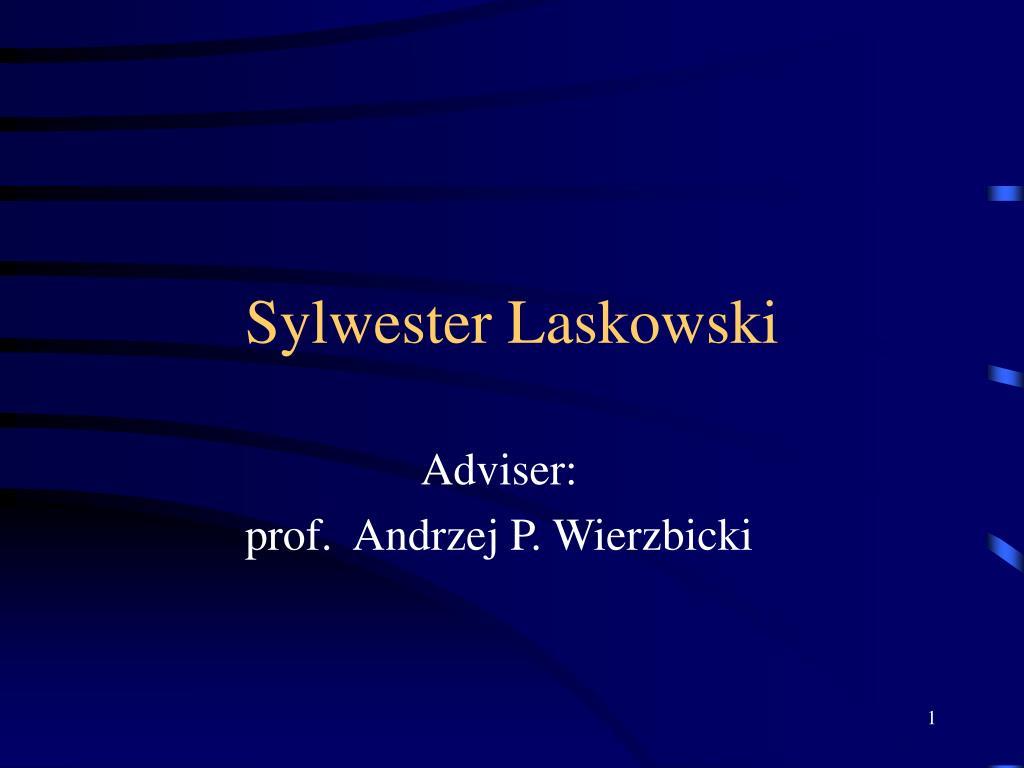sylwester laskowski l.