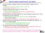 teuchos classes verses boost c 0x classes