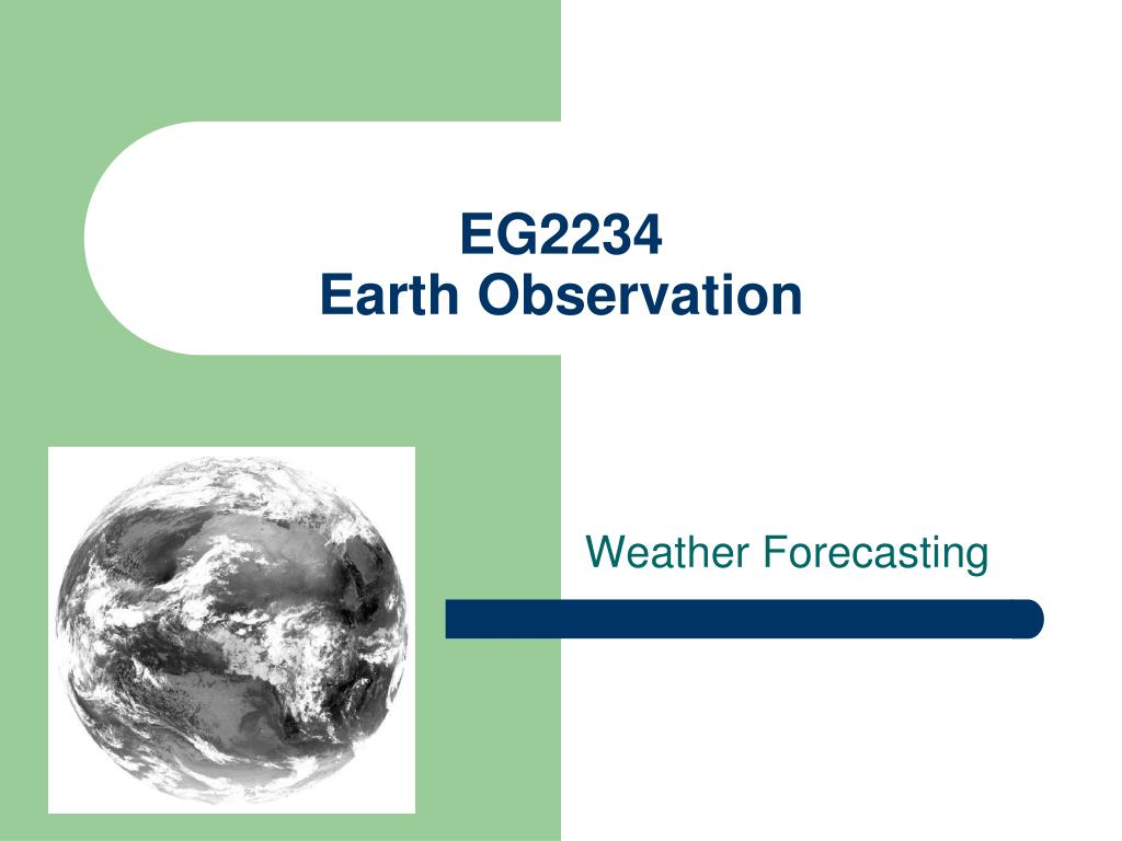 eg2234 earth observation l.