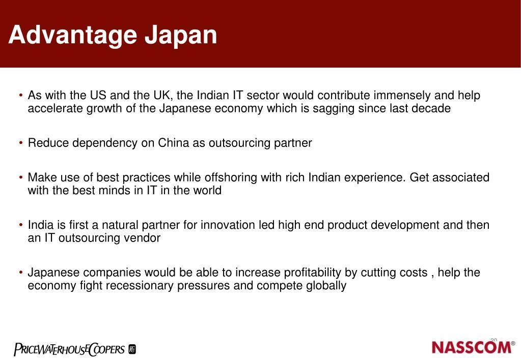 Advantage Japan
