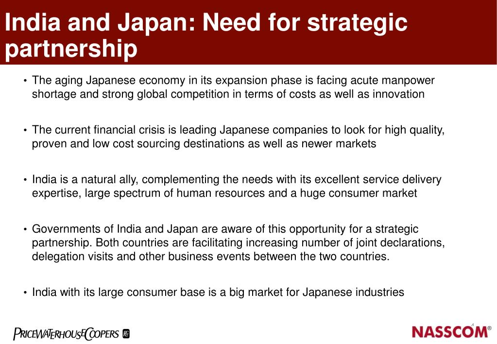 India and Japan: Need for strategic partnership