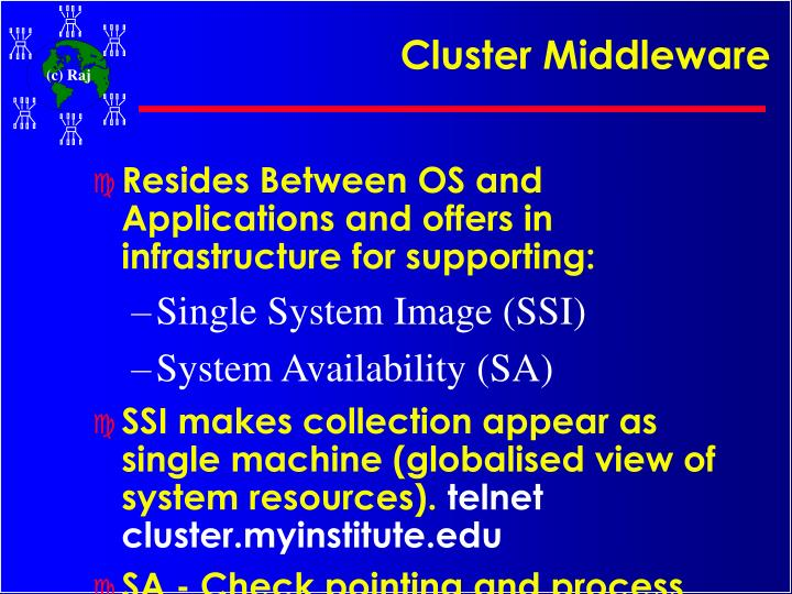 Cluster Middleware