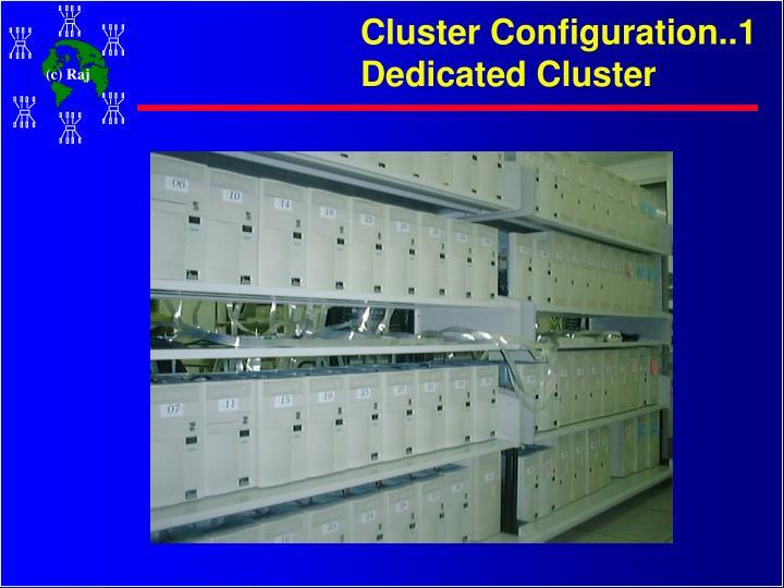 Cluster Configuration..1