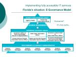 implementing fully accessible it services florida s situation e governance model
