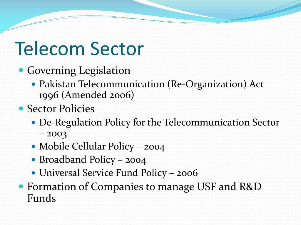 Telecom Sector