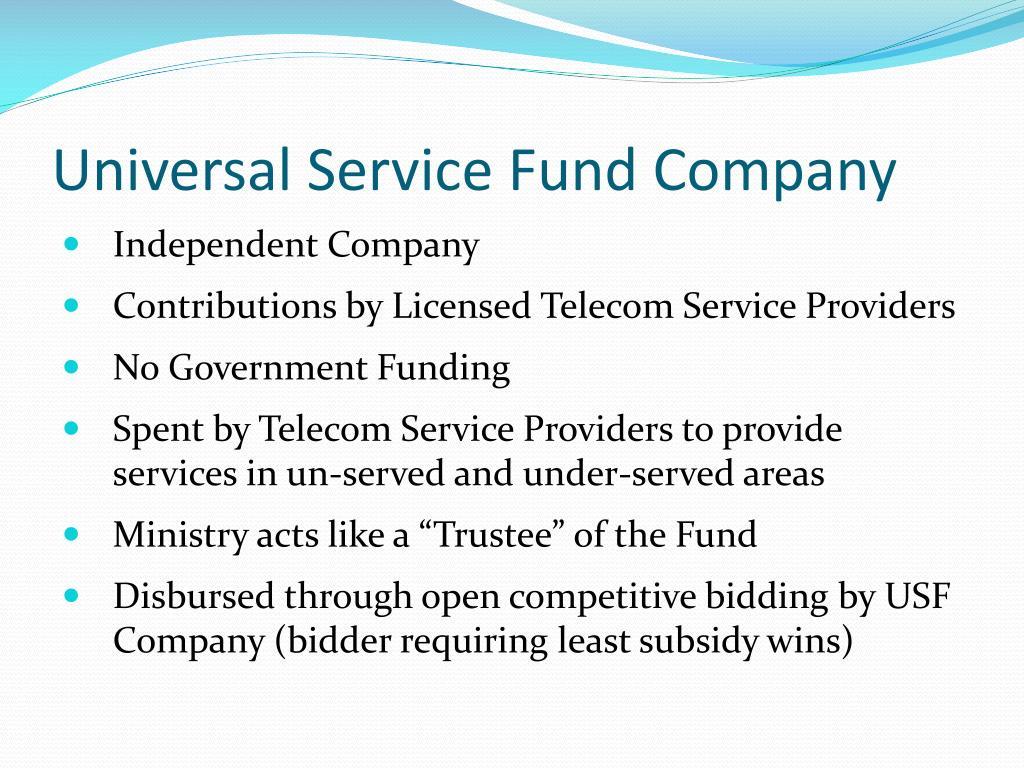 Universal Service Fund Company