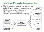 lowering financial reporting cost4