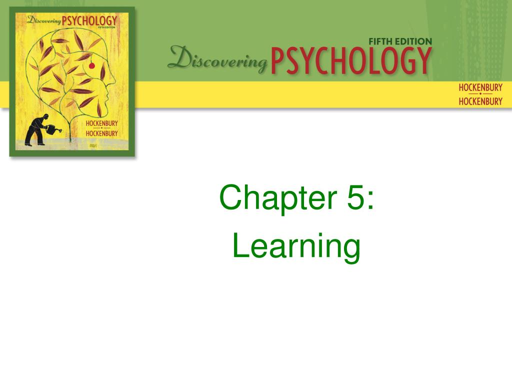chapter 5 learning l.