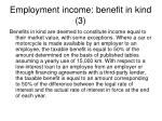 employment income benefit in kind 3