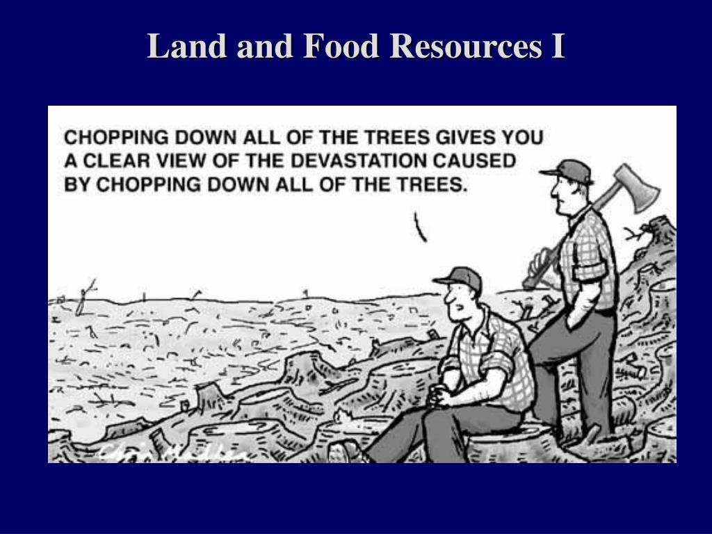 Land and Food Resources I