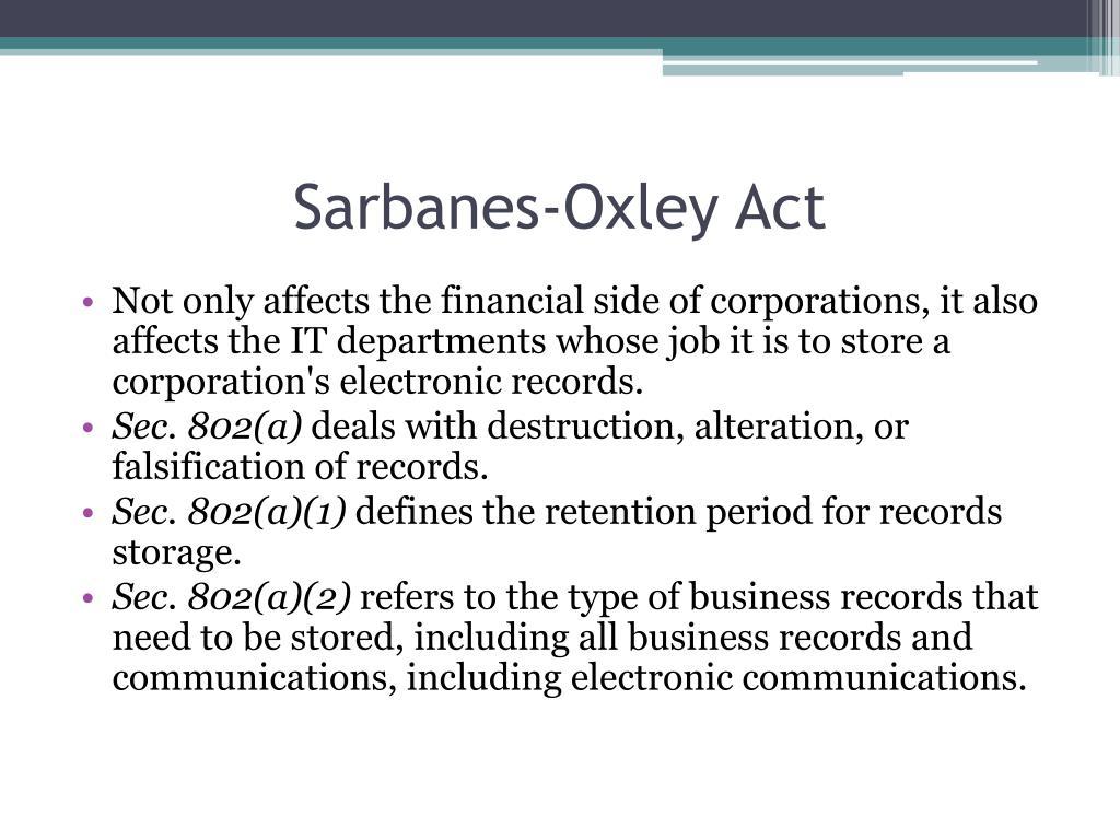 acct5600 sarbanes oxley paper rajaram