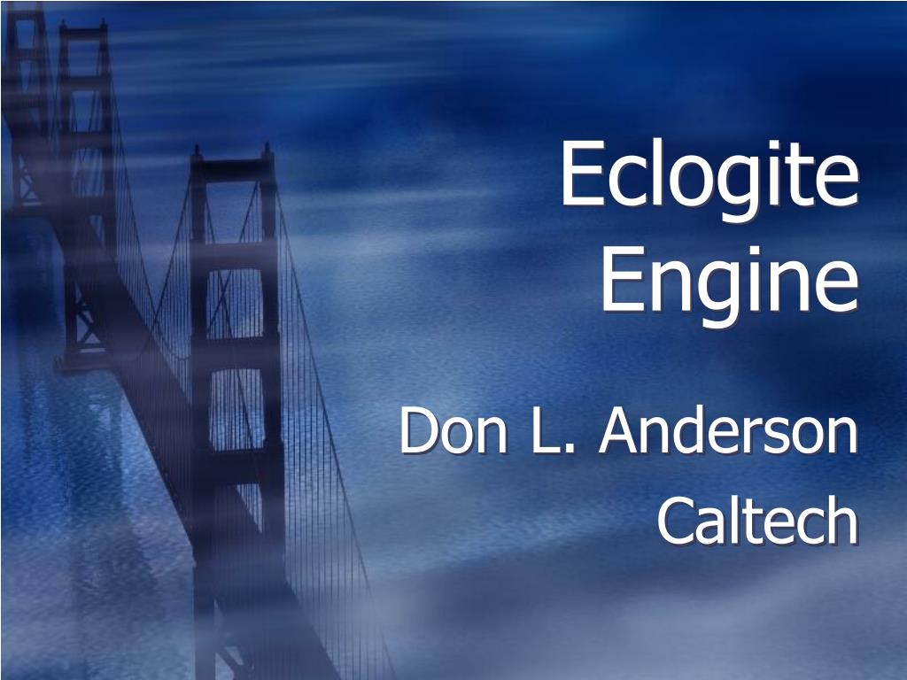 eclogite engine l.