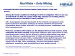 real risks data mining19