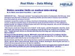 real risks data mining21