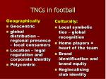 tncs in football