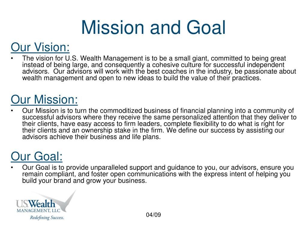 Mission and Goal