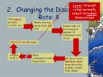 changing the discount rate d45