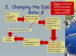changing the discount rate d46