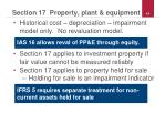 section 17 property plant equipment