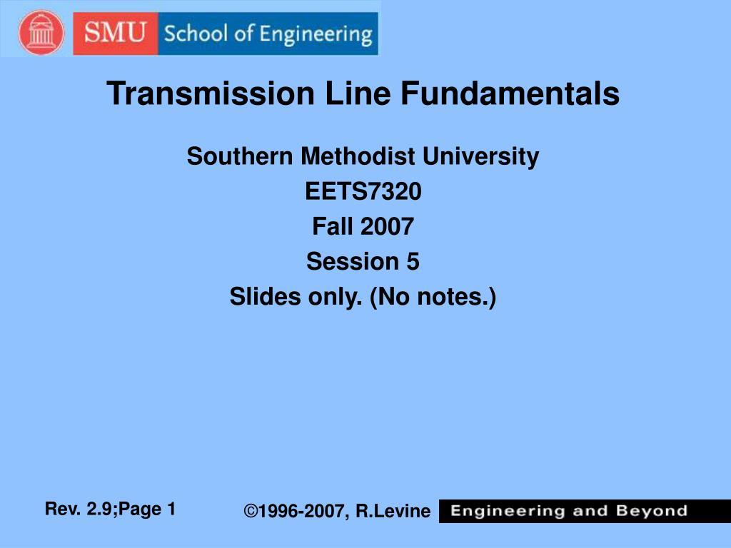 transmission line fundamentals l.