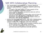 sap apo collaborative planning55