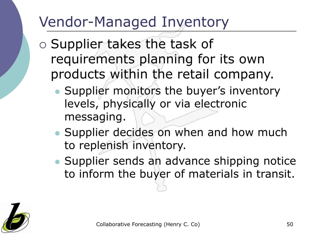 inventory management abc and vmi