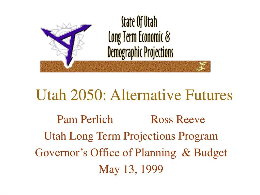 utah 2050 alternative futures l.