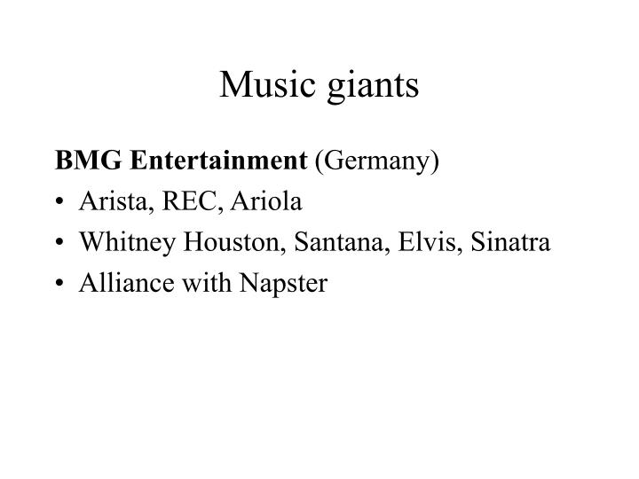 Music giants