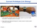current prototype lin zhong