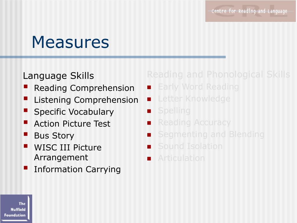 PPT - Early Intervention for Children with Language