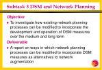 subtask 3 dsm and network planning