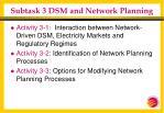 subtask 3 dsm and network planning21