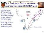 eyre peninsula backbone network upgrade to support 500mw wind