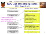 nec grid connection process nec chapter 5 p 9