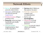 network efforts