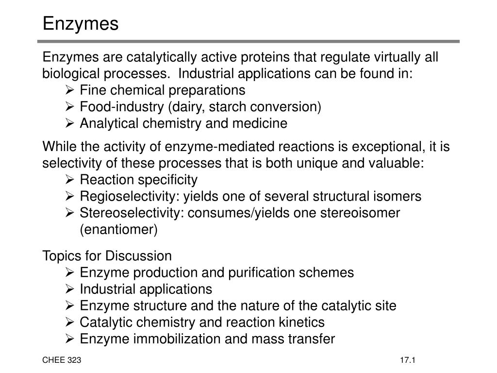 PPT - Enzymes PowerPoint Presentation - ID:594577