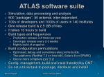 atlas software suite