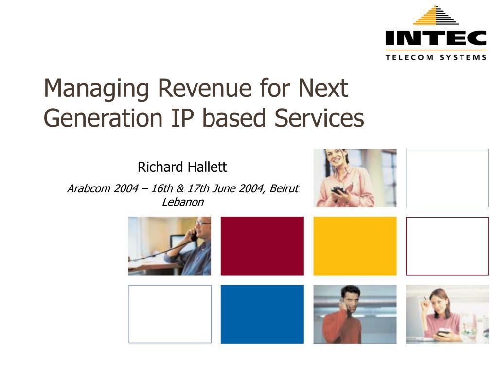 managing revenue for next generation ip based services l.