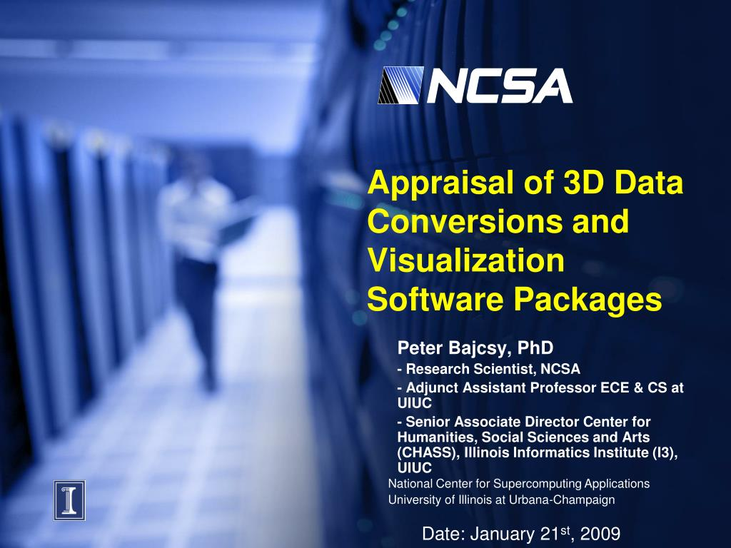 appraisal of 3d data conversions and visualization software packages l.