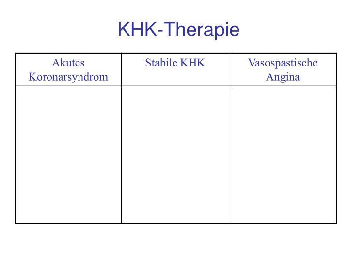 KHK-Therapie