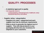 quality processes28