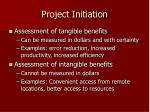 project initiation7