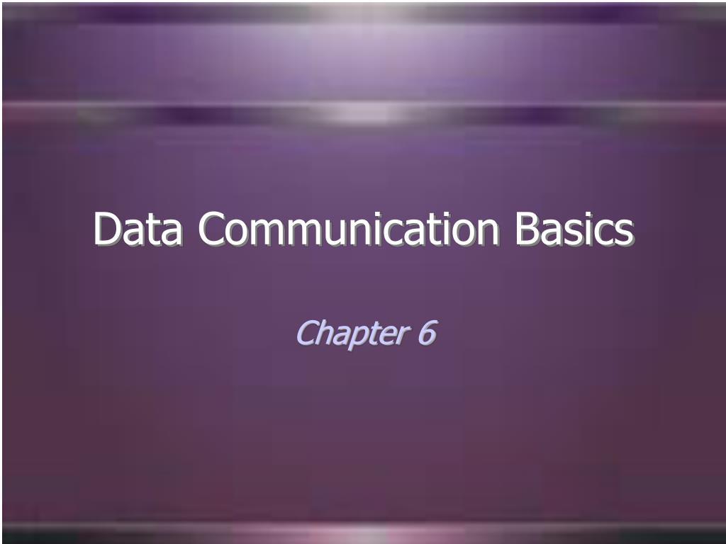 data communication basics l.