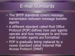 e mail standards18