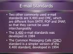 e mail standards19