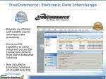 truecommerce electronic data interchange