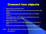 connect two objects